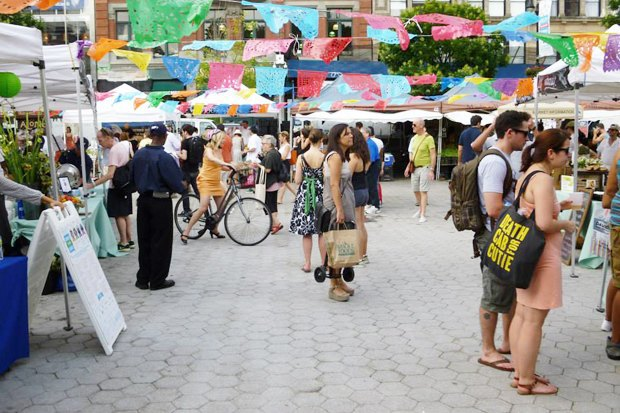 Иностранный опыт: Ярмарки выходного дня в Нью-Йорке, Амстердаме, Норфилде, Шанхае и Крайстчерче. Изображение № 21.
