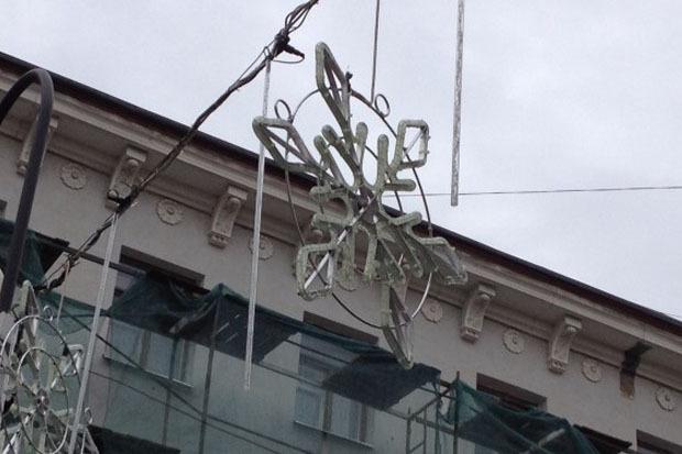Петербург начали украшать к Новому году. Изображение № 3.