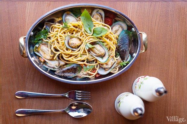 Спагетти с мидиями — 450 рублей. Изображение № 14.