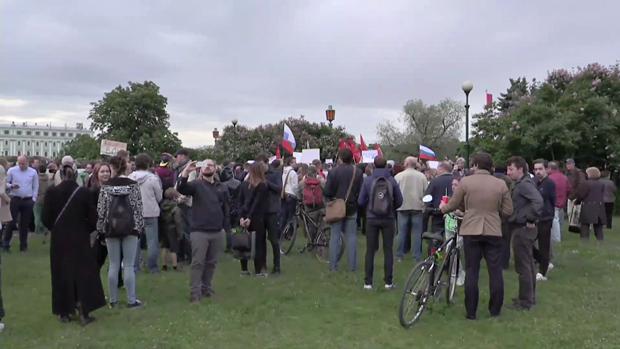 Митинг против моста имени Ахмата Кадырова. Изображение № 2.