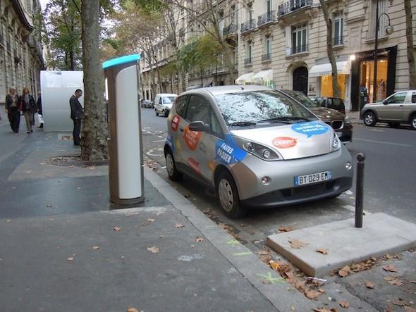 Иностранный опыт: Прокат электромобилей в Париже. Изображение № 13.