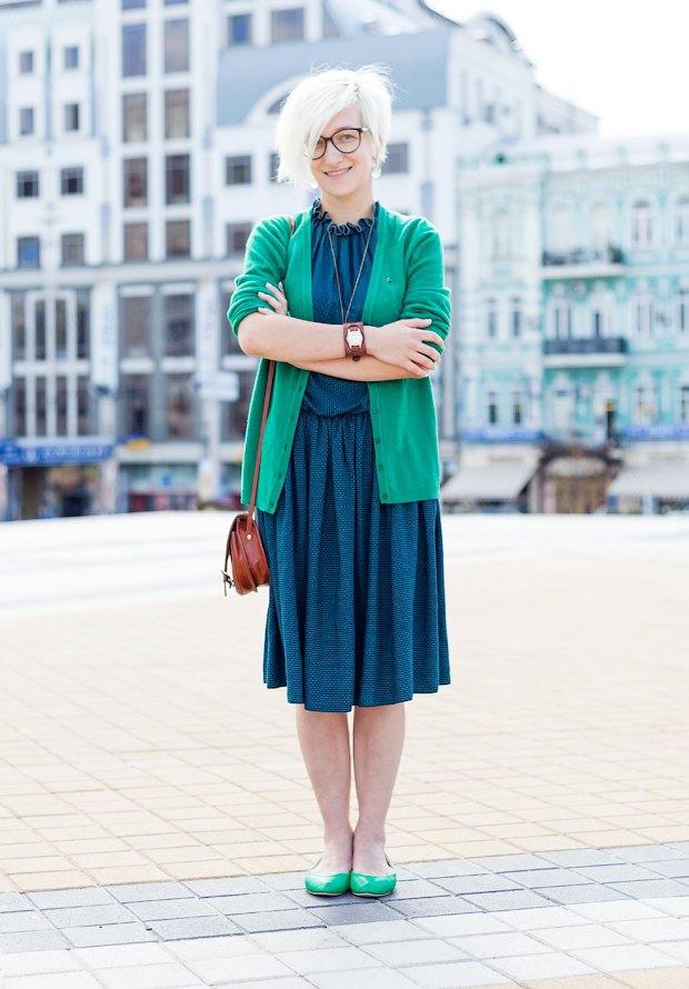 Внешний вид (Киев): Основательница студии открыток Mirabella Postcards Мария Снегирёва. Изображение № 1.