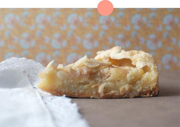 Яблочный пирог с миндальным кремом. Изображение № 1.