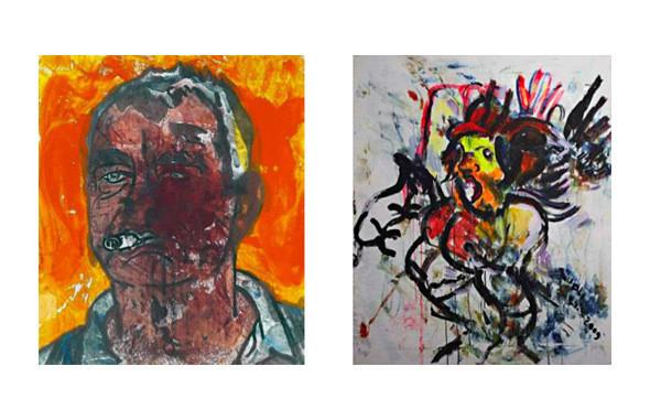 Репродукции двух картин без названия, Отто Мюль. Изображение № 5.