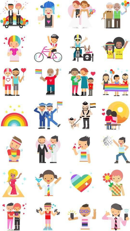 Запретить в России ЛГБТ-смайлики. Изображение № 1.