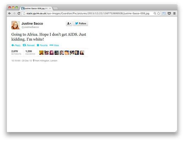 Банан для Обамы и ещё шесть знаменитых нетолерантных твитов. Изображение № 3.