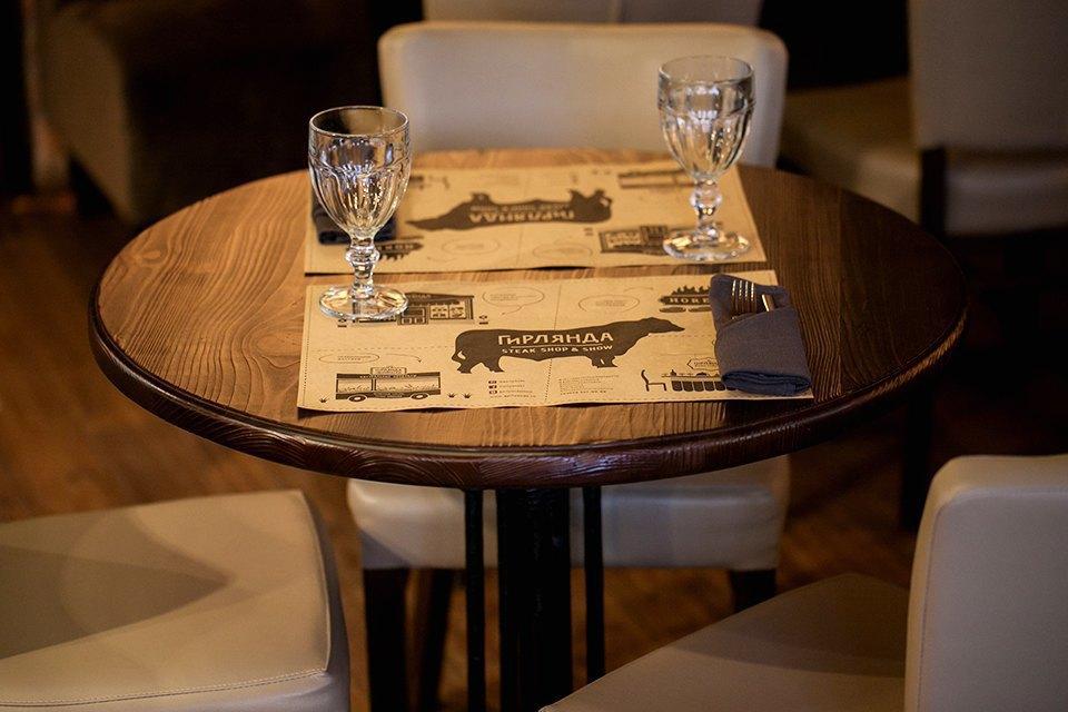 Ресторан «Гирлянда Steak Shop&Show» наРубинштейна . Изображение № 4.