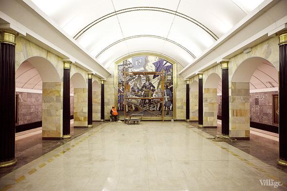 Фоторепортаж: Станция метро «Адмиралтейская» изнутри. Изображение № 14.