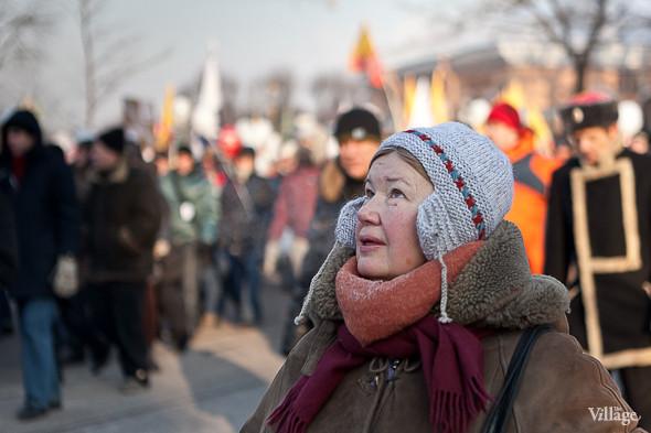 Фоторепортаж: Шествие за честные выборы в Петербурге. Изображение № 40.