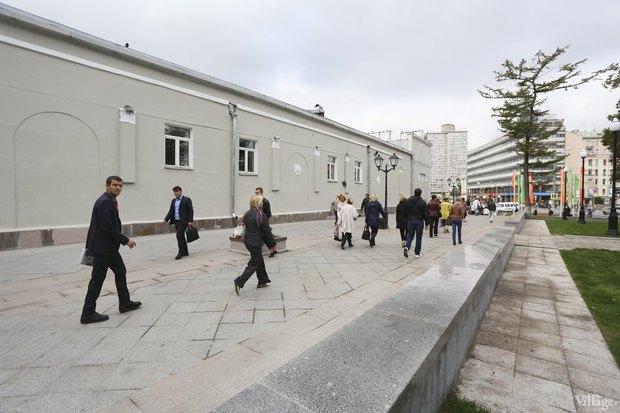 Фото дня: Как выглядит обновлённая Арбатская площадь. Изображение № 7.