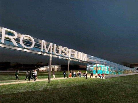 Администрация метро показала проект своего будущего музея. Изображение № 1.