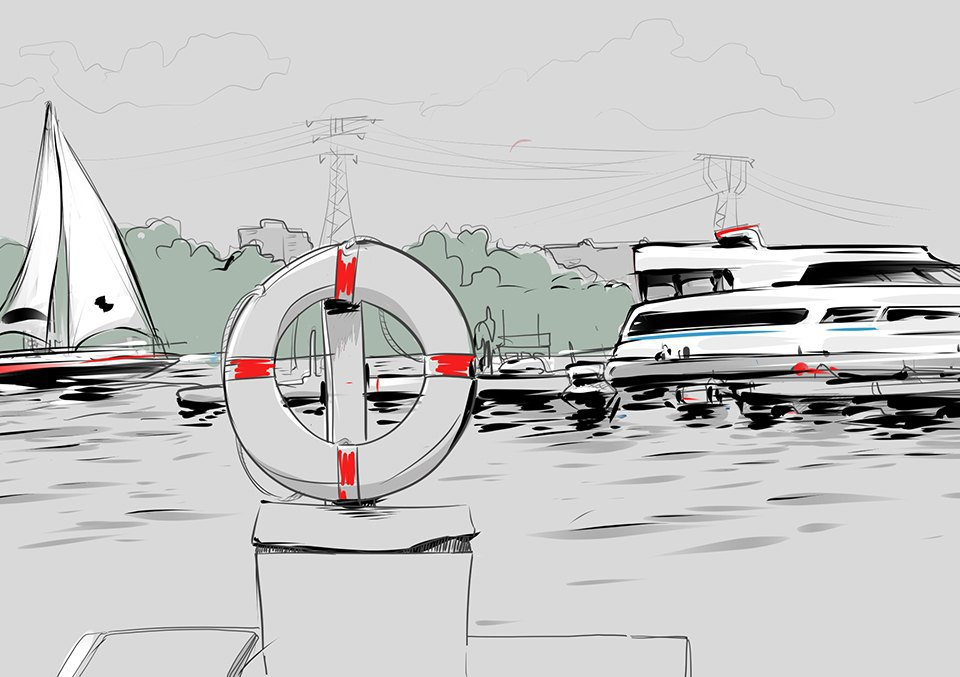Яхт-клуб. Изображение № 6.