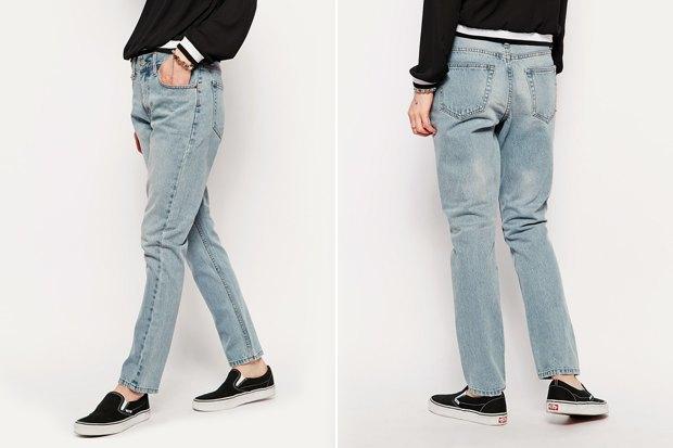 Где купить женские джинсы прямого кроя: 9вариантов от2до 36тысяч рублей. Изображение № 5.