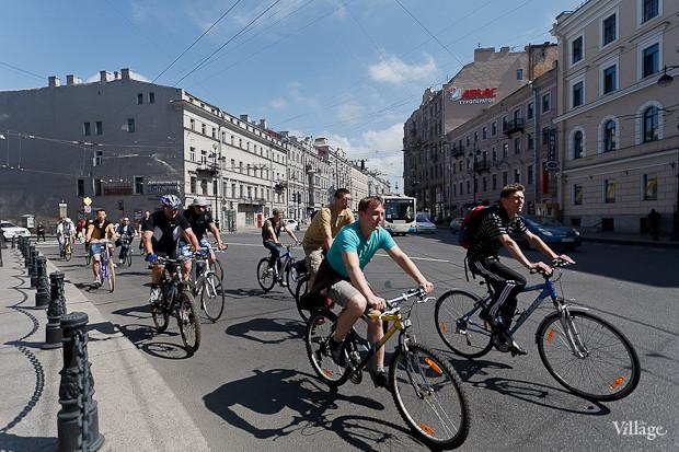 Фоторепортаж: Велопробег «За велогород». Изображение № 10.