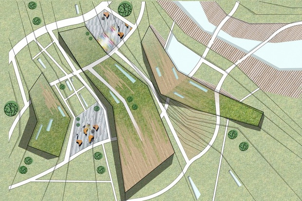 Для Петербурга разработали проекты эко отеля, банка и досугового центра. Изображение № 13.