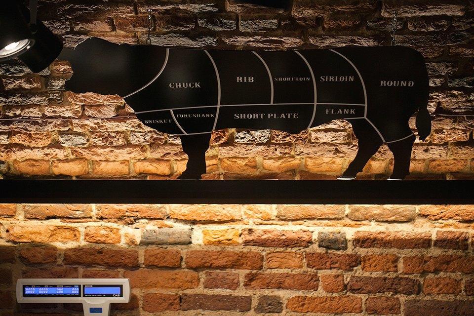 Ресторан «Гирлянда Steak Shop&Show» наРубинштейна . Изображение № 8.