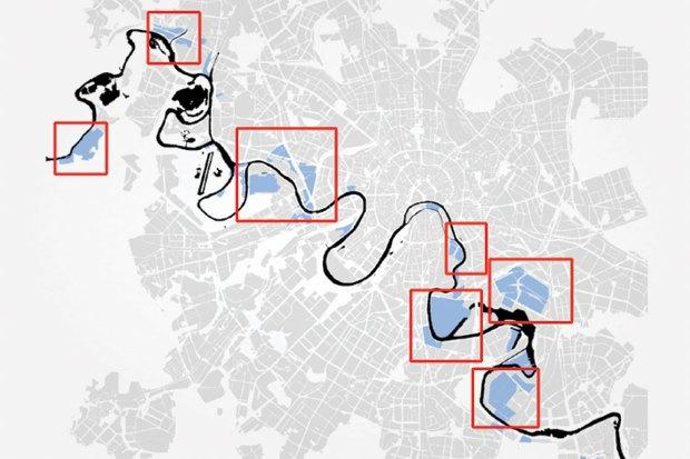 Реорганизация промзон вдоль Москвы-реки. Изображение № 6.