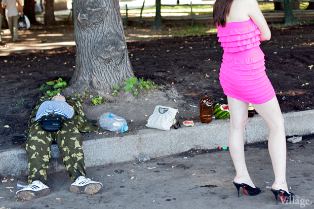 Люди в городе: Как отмечали День ВДВ в парке Горького. Изображение № 7.