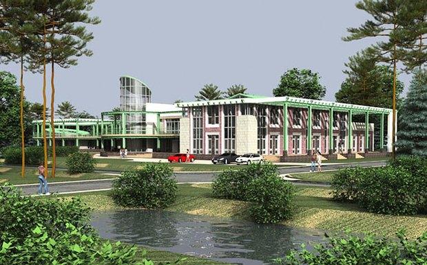 Проект коттеджного посёлка на месте Баболовского парка. Изображение № 4.