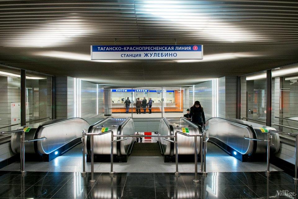 Фото дня: Новые станции метро «Лермонтовский проспект» и «Жулебино». Изображение № 12.