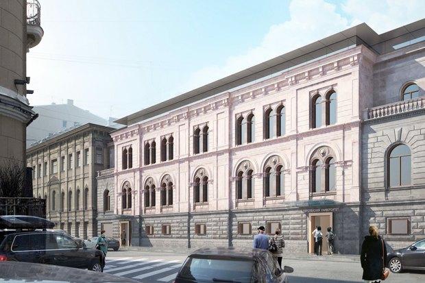 Европейский университет: 4 проекта реконструкции. Изображение № 2.