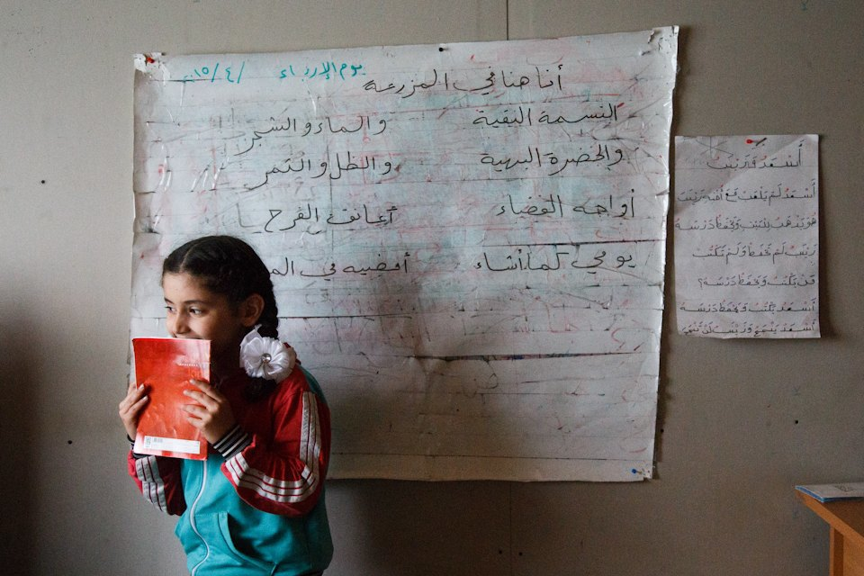 Дети, которых нет: Как проходят занятия в ногинской школе для сирийских беженцев. Изображение № 4.