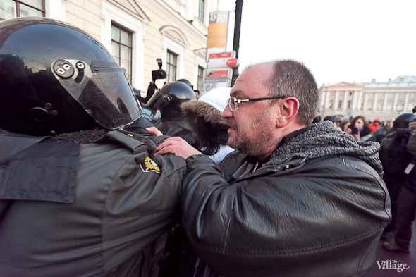 Фоторепортаж: Митинг 5 марта на Исаакиевской площади. Изображение № 24.
