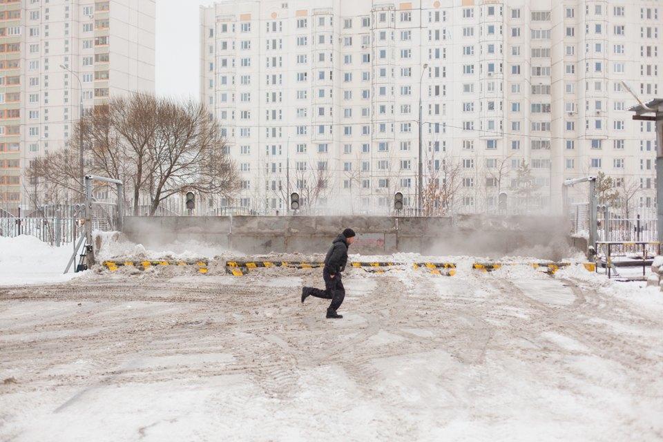 Летел и таял: Как в Москве плавят снег. Изображение № 11.