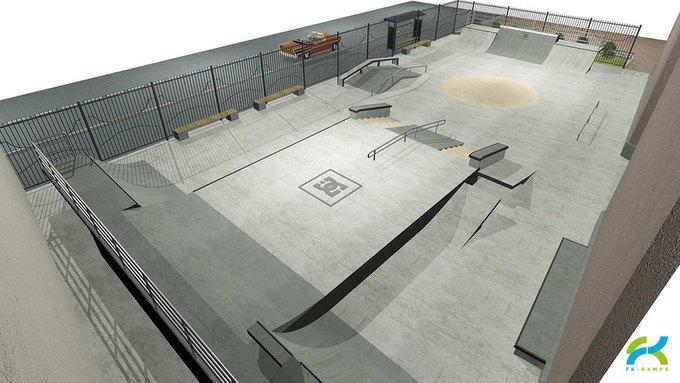 В Петербурге откроется первый бетонный скейт-парк. Изображение № 3.