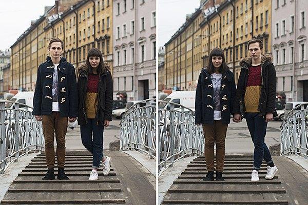 В Петербурге сняли аналог фотопроекта Switcharoo. Изображение № 3.