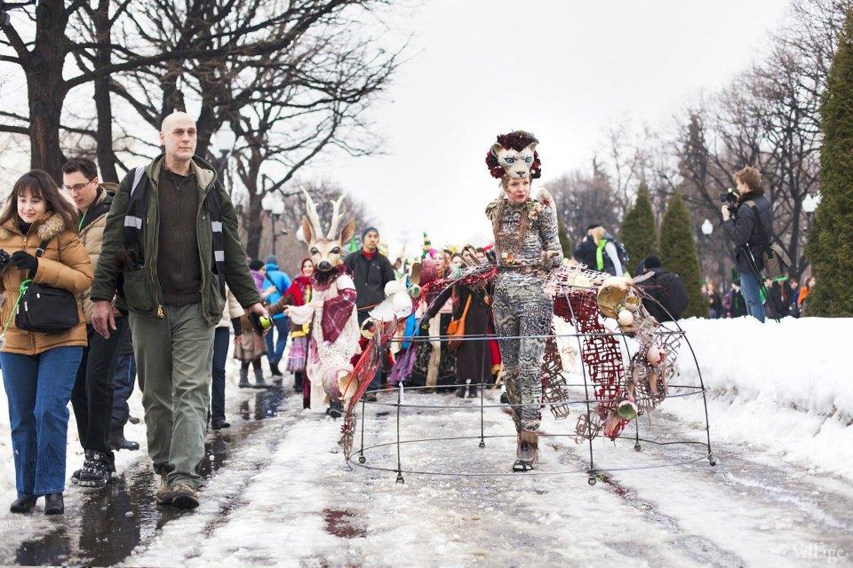 Люди в городе: Участники парада вчесть Днясвятого Патрика. Изображение № 2.