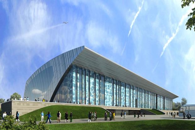 Проект Дворца водных видов спорта к Универсиаде-2013 в г. Казани. Изображение № 2.