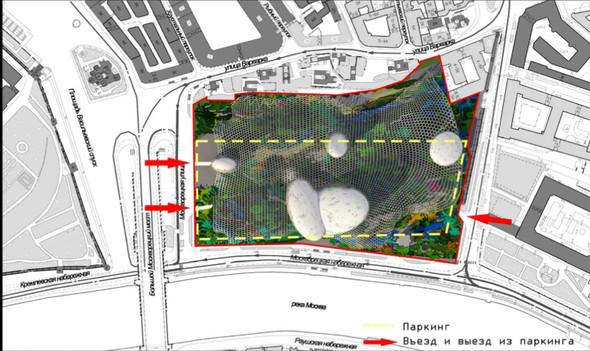 Москомархитектура выбрала 118 проектов парка в Зарядье. Изображение № 5.