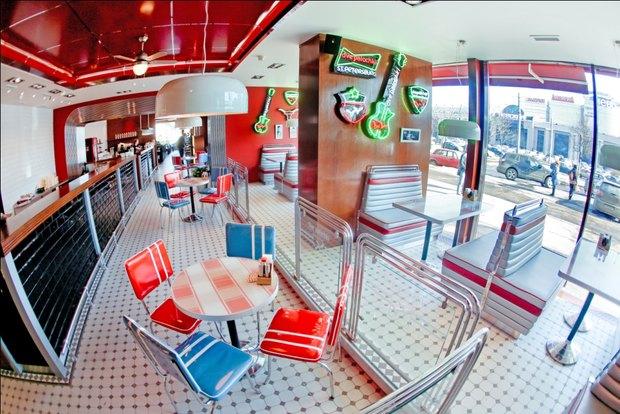 «Две палочки» открывают второе кафе в американском стиле. Изображение № 1.