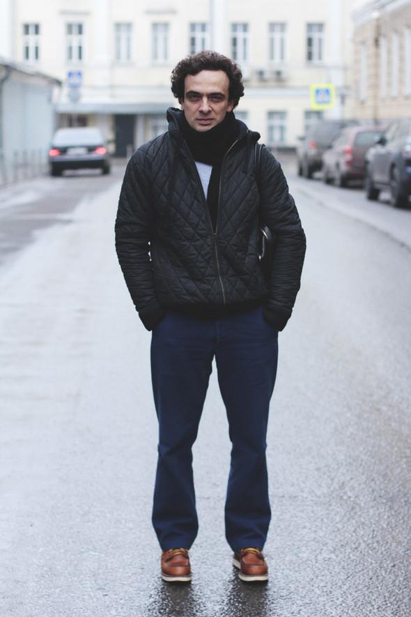 Внешний вид: Алексей Иорданов, менеджер по рекламе в журнале Esquire. Изображение № 1.