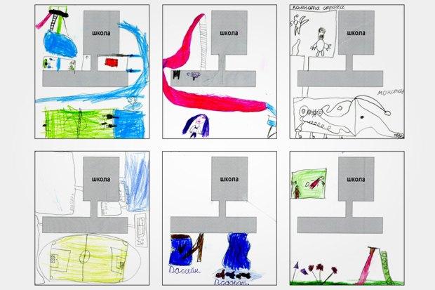 Какой дети видят идеальную школьную площадку. Изображение № 55.