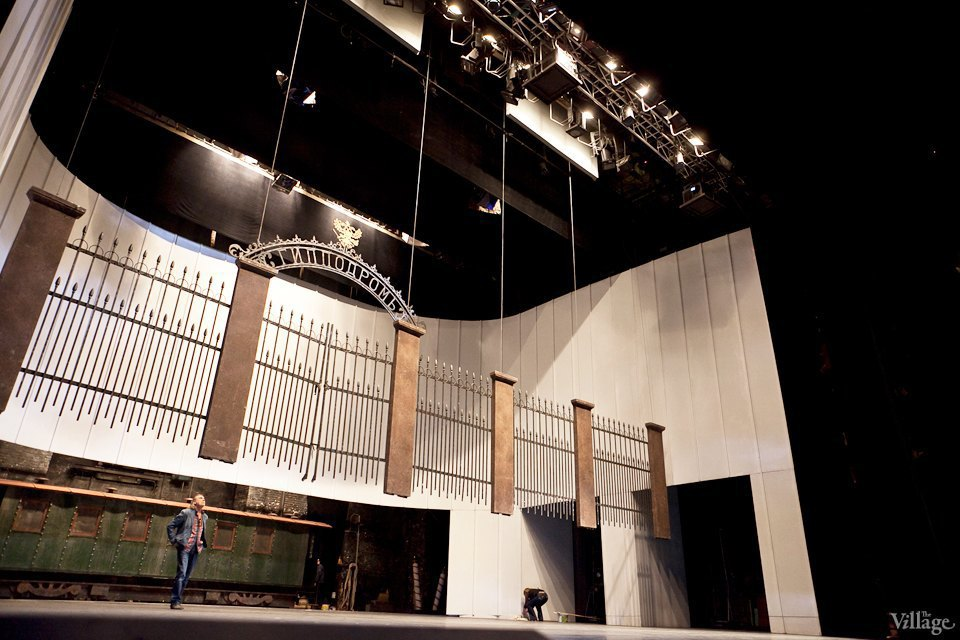 Фоторепортаж: Вторая сцена Мариинского театра изнутри. Изображение № 47.