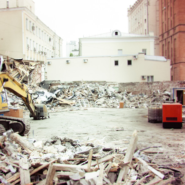 В зоне риска: Флигель фабрики в Милютинском переулке. Изображение № 7.