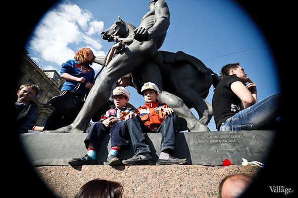 День Победы в Москве и Петербурге: Как гуляют и о чём вспоминают ветераны 9 Мая. Изображение № 62.