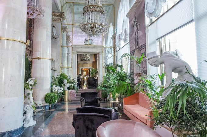В высотке на Кудринской площади открылся ресторан Balzi Rossi. Изображение № 2.