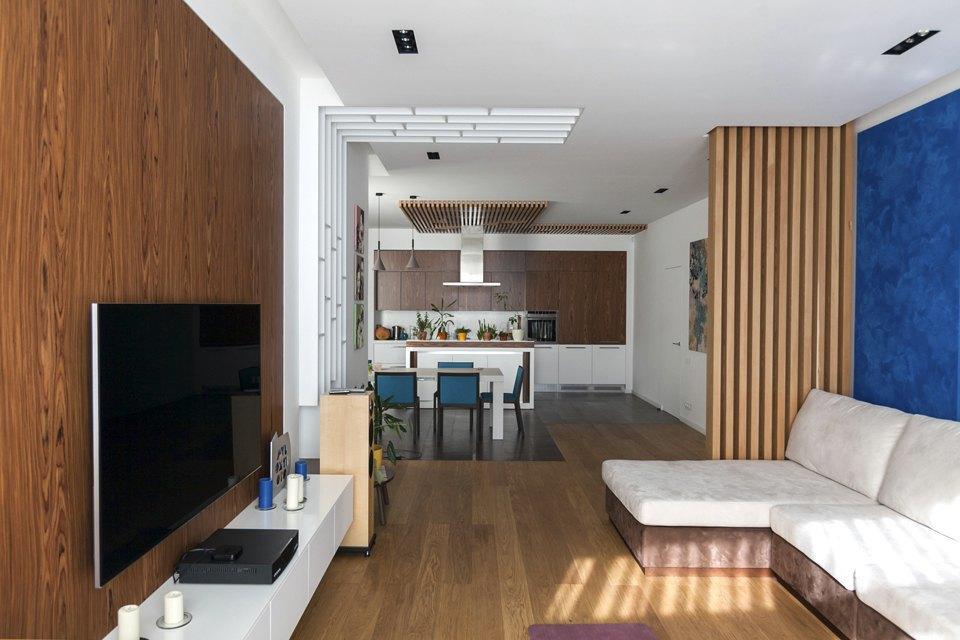 Трёхкомнатная квартира сотделкой изнатуральных материалов . Изображение № 6.