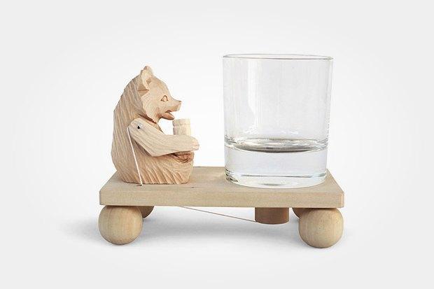 Сувенир «Пьющий медведь», 55 евро. Изображение № 13.