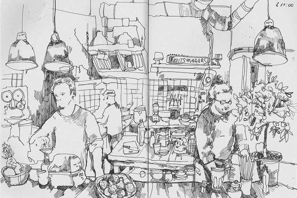 Кафе Fruits & Veges. Изображение № 8.