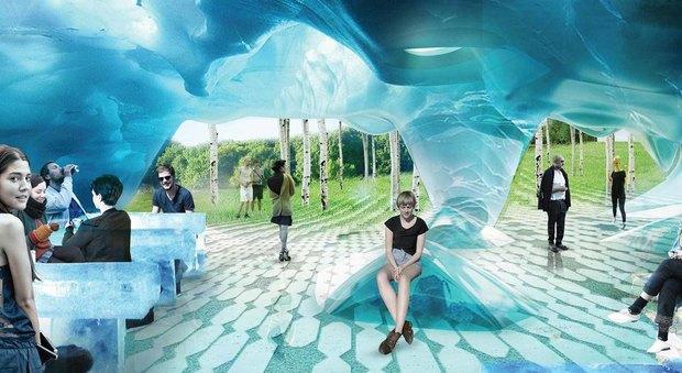 В «Зарядье» появятся энергосберегающие скамейки. Изображение № 2.
