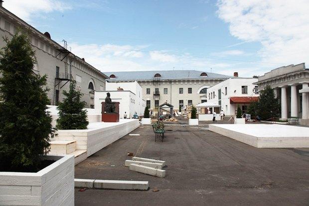 Проект двора в Провиантских складах. Изображение № 32.