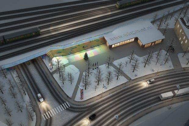 «Винзавод» выбрал концепции развития сквера в Басманном районе. Изображение № 3.
