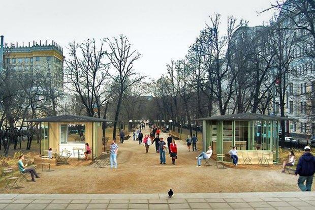 Реконструкция бульваров: Проект Wowhaus. Изображение № 4.
