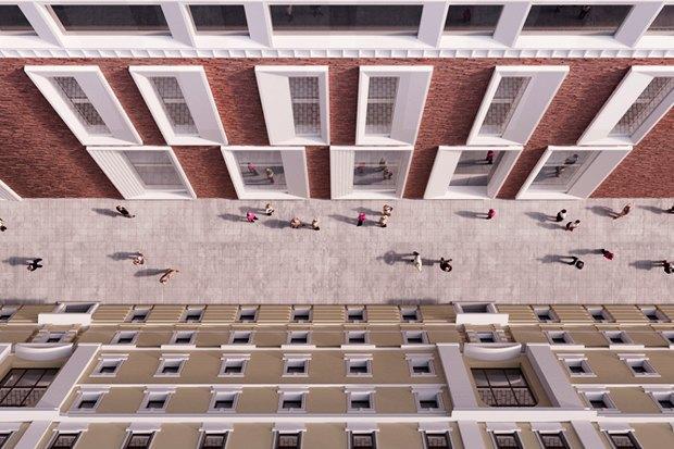 Определены проектировщики фасадов нового здания Третьяковки. Изображение № 6.