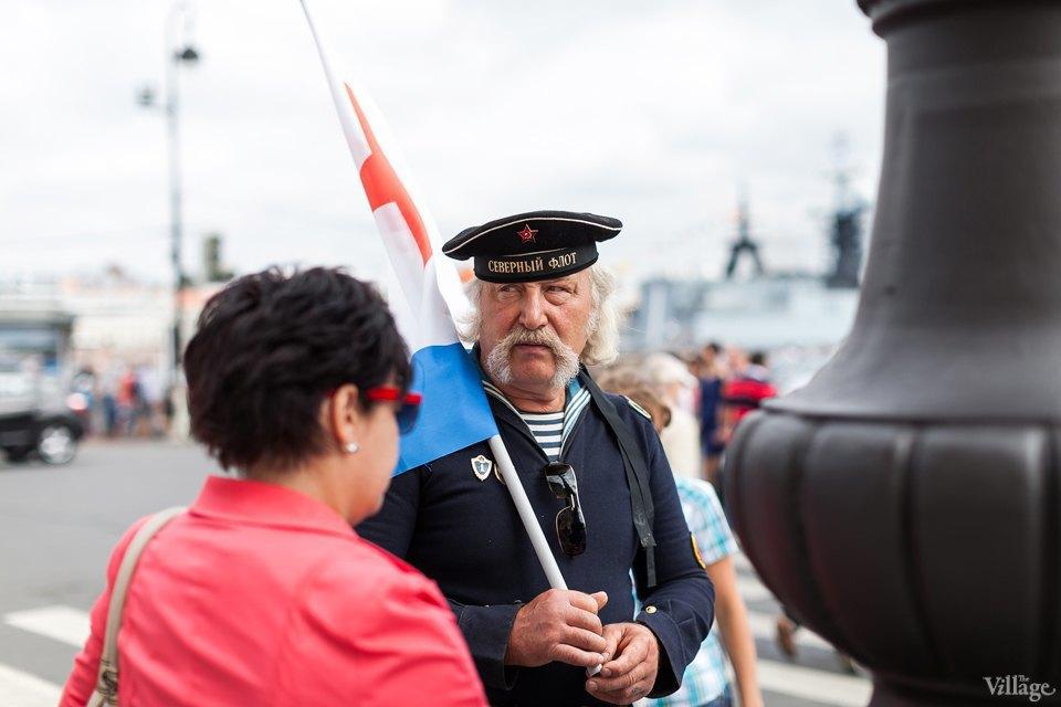 Фоторепортаж: День Военно-Морского флота вПетербурге. Изображение № 9.