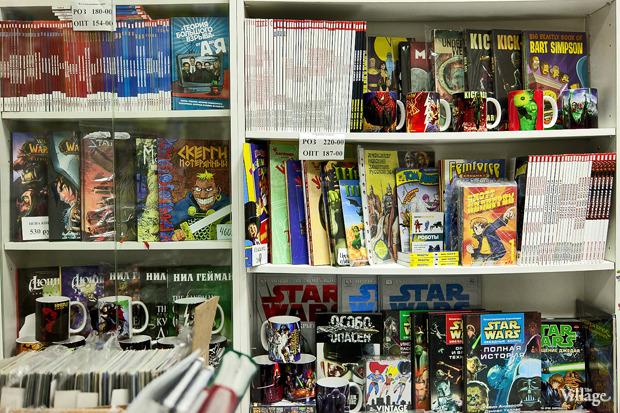 Раскадровка: 6 магазинов илавок с комиксами вПетербурге. Изображение № 23.